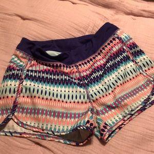 Girls Athletic Shorts - Size L (10-12)